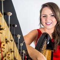 Event Harpist Rhianwen